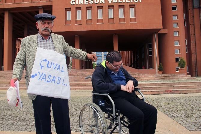 Bir Babanın Engelli Çocuğu İçin 35 Santimetrelik Yol Mücadelesi