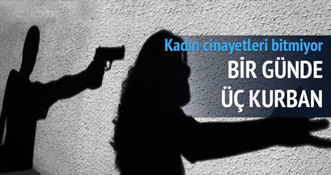 Kadına şiddete bir günde dört kurban
