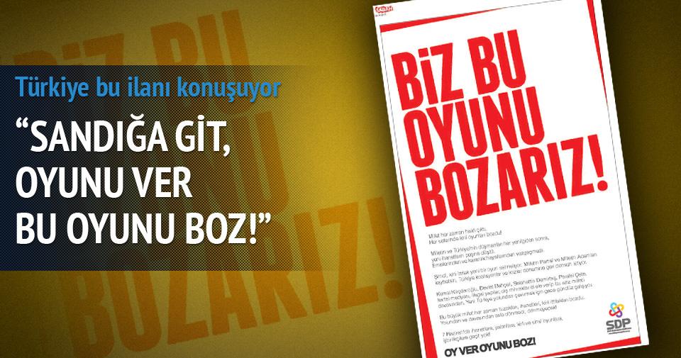 Türkiye bu ilanı konuşuyor