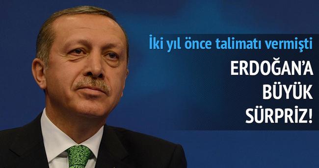 Cumhurbaşkanı Erdoğan'a 'Güleser' sürprizi