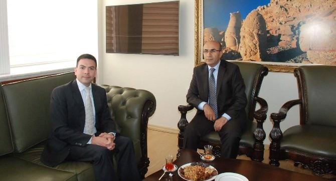 ABD Adana Konsolosu John L. Espinoza'dan Vali Demirtaş'a Ziyaret