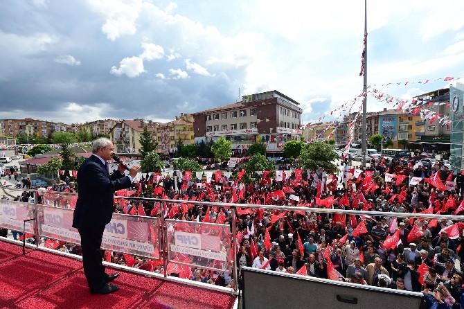 Kılıçdaroğlu, Çubuk, Pursaklar Ve Keçiören'i Ziyaret Etti