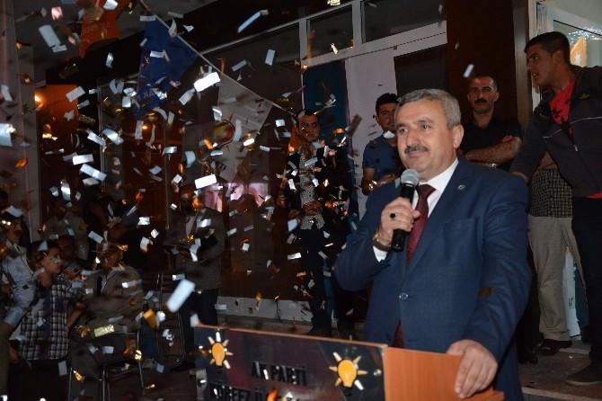 Başkan Baran, Seçim Bürosu Açılışına Katıldı