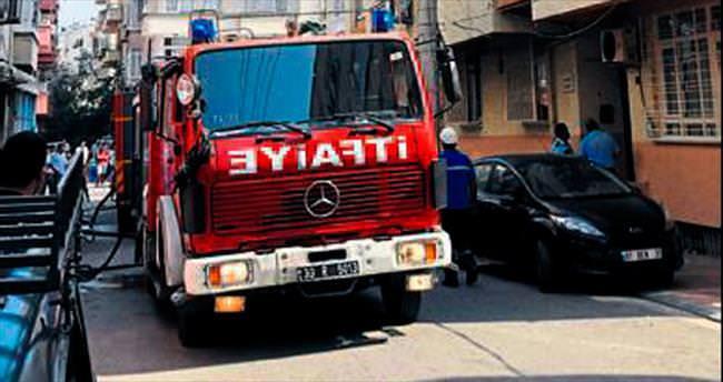 4. kattaki yangın korkuttu