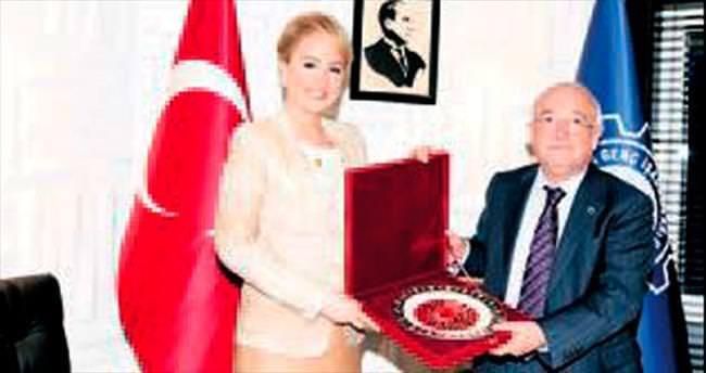Meclis Başkanı Çiçek'ten ANGİAD'a veda ziyareti