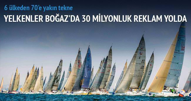 Boğaz'ı paha biçilmez yelkenler süsleyecek