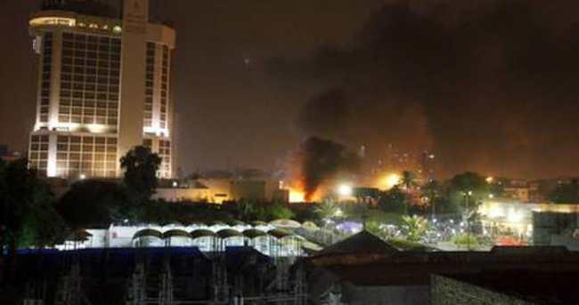 Bağdat'ta 2 otele bombalı saldırı: 10 ölü