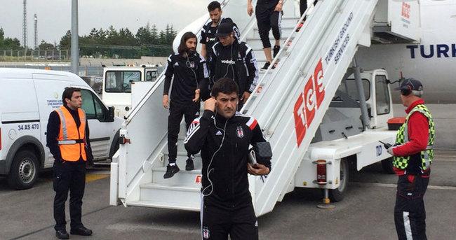 Beşiktaş kafilesi başkentte