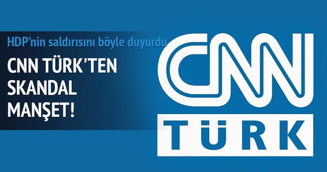 HDP'nin saldırısını böyle duyurdu