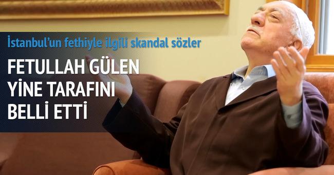 Gülen'den İstanbul'un fethiyle ilgili tuhaf sözler!