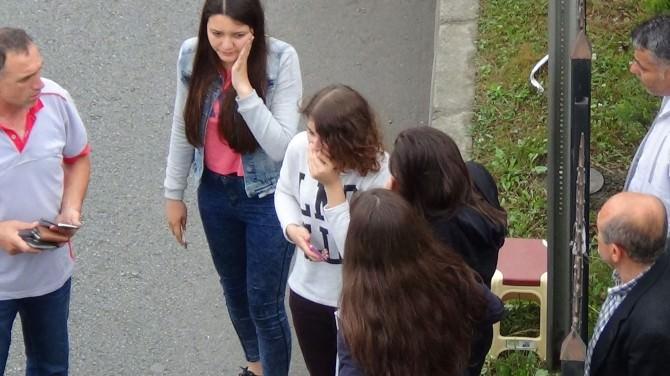 Giresun'da Öğrenci Servisi Kaza Yaptı : 11 Yaralı