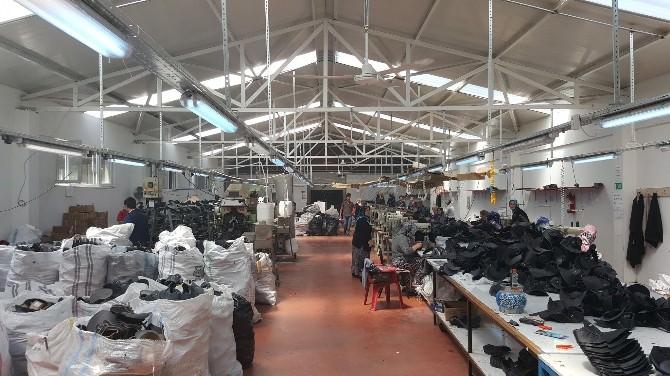Avrupalı İşçinin Ayakkabısı Almus'ta Üretiliyor