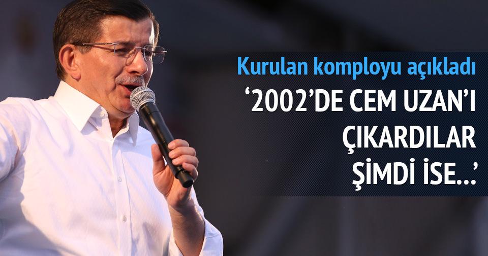 Davutoğlu'ndan HDP'ye Genç Parti benzetmesi