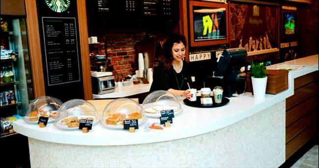 Kahve keyfi Starbucks'la Holiday Inn'de yaşanıyor