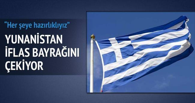 Yunanistan iflas için hazırlanıyor