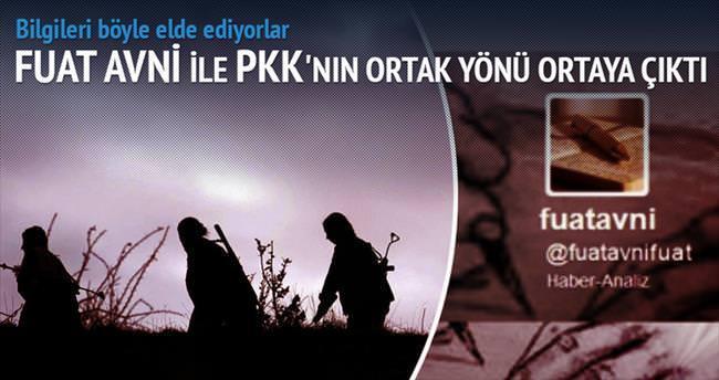 Fuat Avni ile PKK'nın ortak bir yönü var!