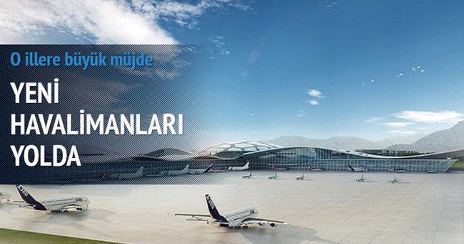 Yeni havalimanları yolda