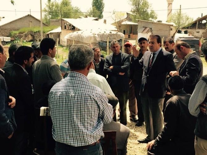 AK Parti Milletvekili Adayı İbrahim Aydemir: 'Hınıslının İmanı Test Edilemez'