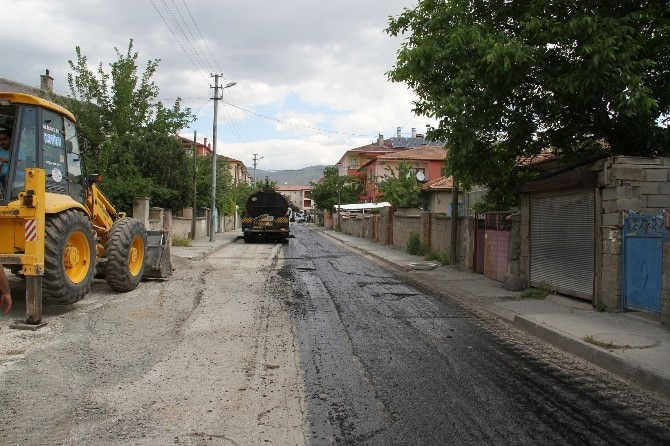 Asfalt Çalışmaları Atatürk Mahallesinde