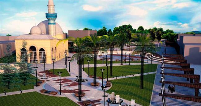 Tarihi Yeşil Cami'ye Büyükşehir eli değdi