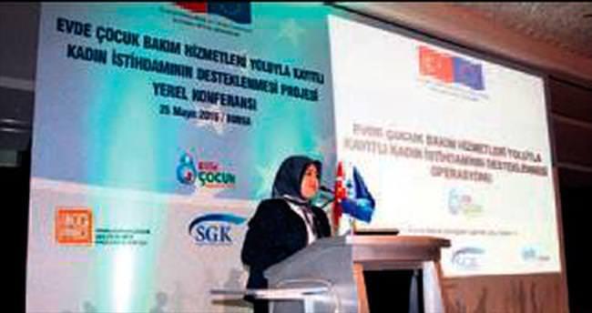 Bursa'da binlerce kadına iş istihdamı