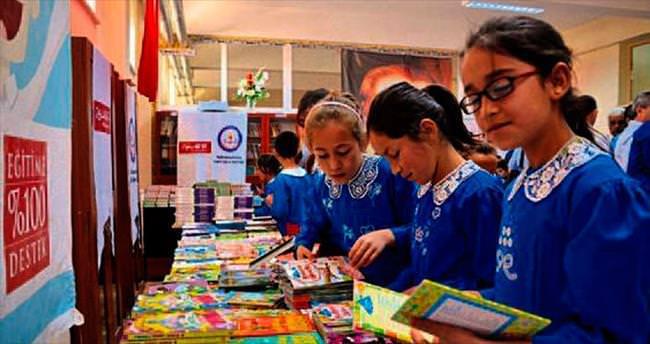 Öğrenciler kitapla buluştu