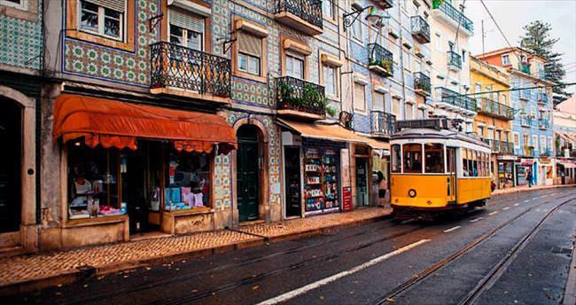 Sarı tramvayın peşinde Lizbon