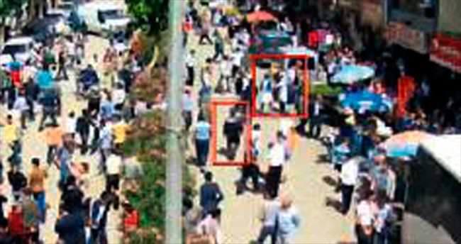 AK Parti saldırısı kameralara yansıdı