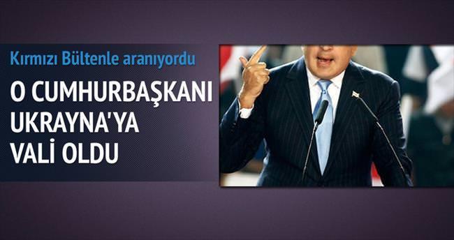 Saakaşvili Ukrayna'da vali oldu