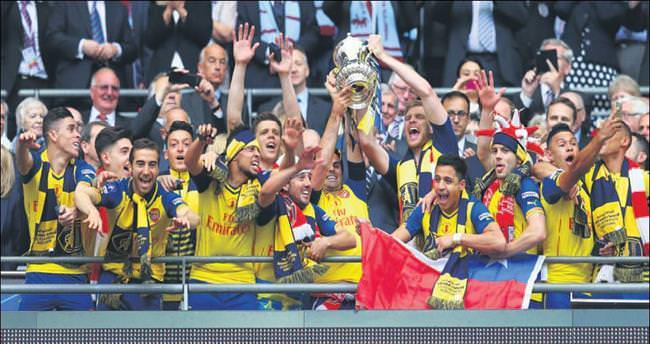 FA CUP'ta zafer yine Arsenal'in