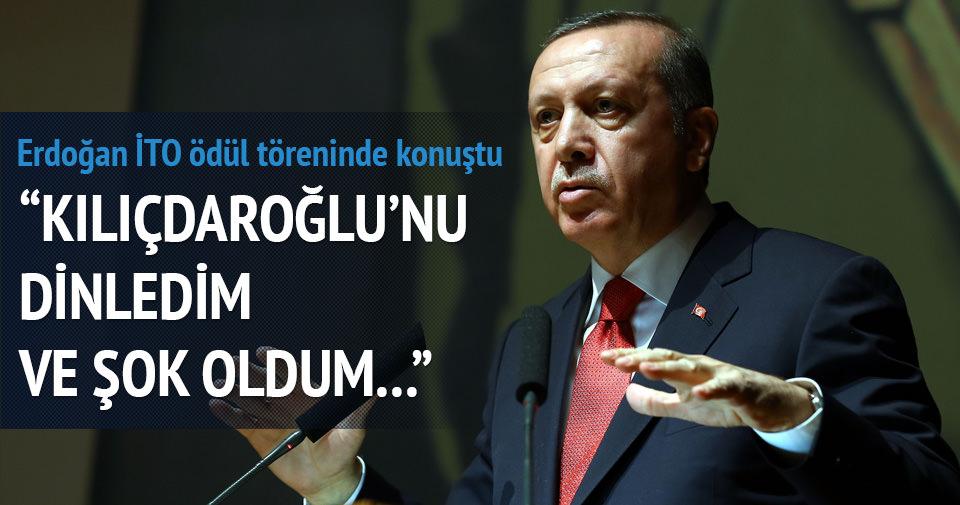 Erdoğan: Kılıçdaroğlu'nu dinledim şok oldum...