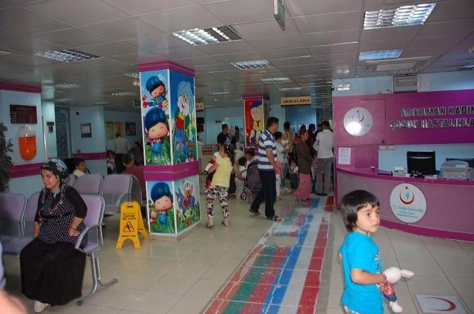 Adıyaman'da 2 Çocuk Kuş Gribi Şüphesiyle Hastaneye Kaldırıldı