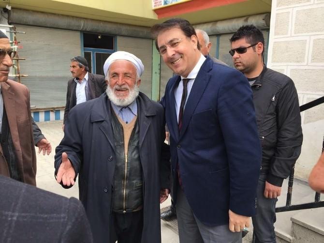 Aydemir: 'Erzurum Abdurrahman Gazi'nin Duasıdır'