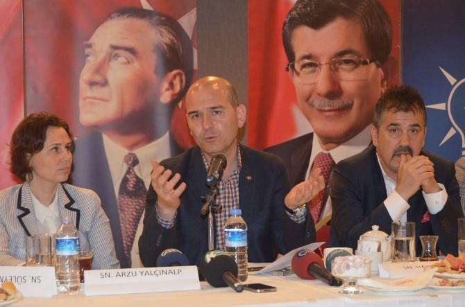 Soylu Trabzon Basını İle Buluştu