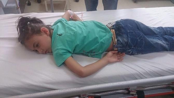 Suriyeli Küçük Kız Maganda Kurşunuyla Yaralandı