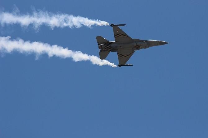 Türk Hava Kuvvetleri'nin 104. Yılı Kutlaması Nefesleri Kesti