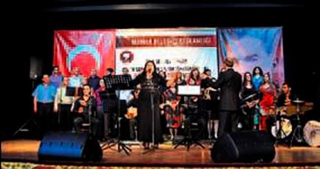Şarkılar ve türkülerle Mamak'ta sezon finali