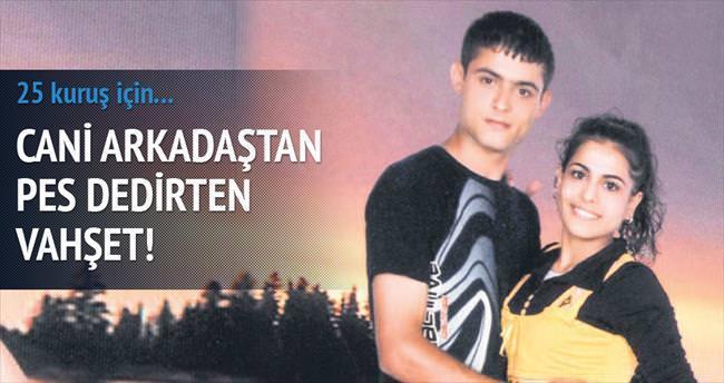 25 kuruşluk şişe için arkadaşını öldürdü