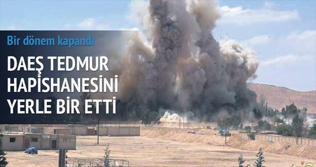 Rejimin işkence hapishanesini DAEŞ havaya uçurdu