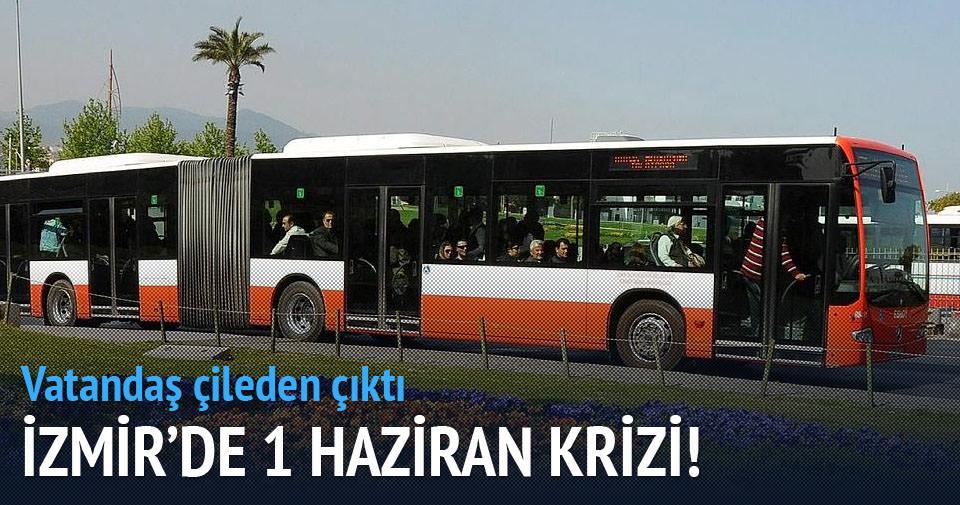 İzmir'de Kentkart krizi!