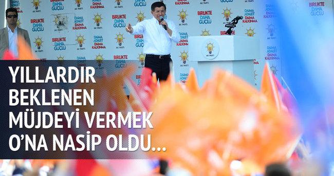 Başbakan Davutoğlu yerli otomobil müjdesini verdi