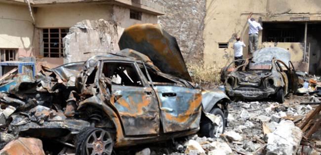 Silah deposuna intihar saldırısı: 37 ölü!