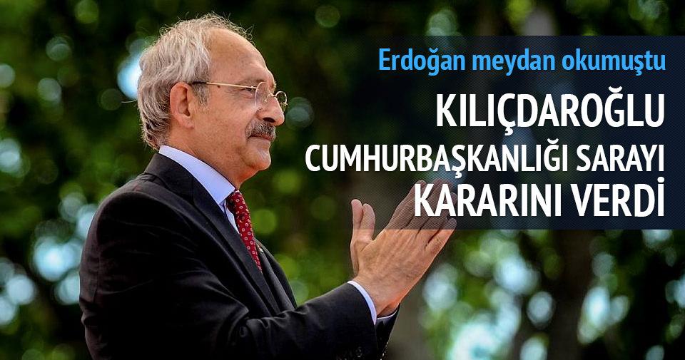 Kılıçdaroğlu Cumhurbaşkanlığı Sarayı'na gitmeyecek