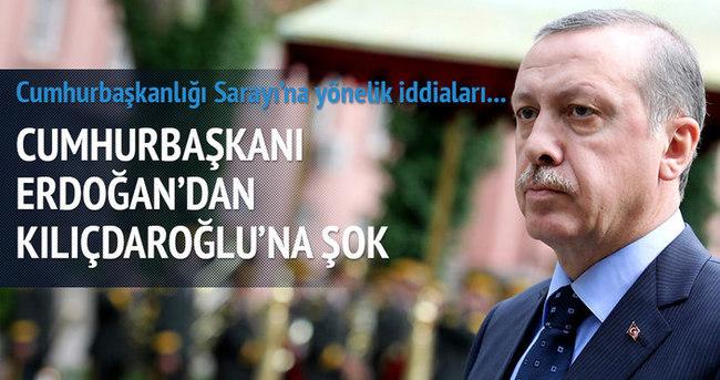 Cumhurbaşkanı Erdoğan Kılıçdaroğlu'na dava açacak