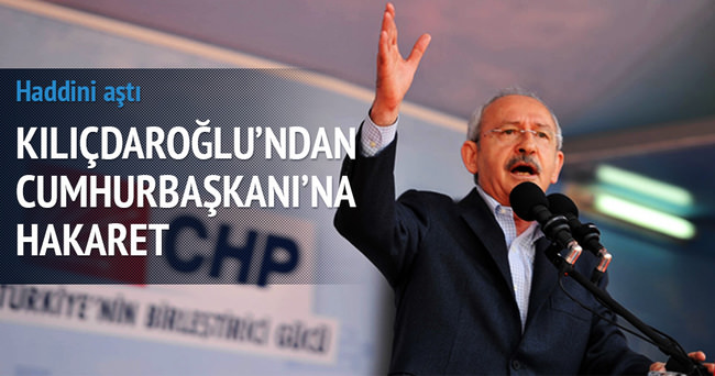 Kılıçdaroğlu canlı yayında Erdoğan'a hakaret etti