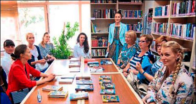 Kütüphane'de Rus köşesi oluşturuldu