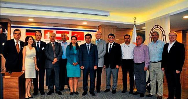 Avrupalı müsteşarlar yatırım için Tarsus'ta