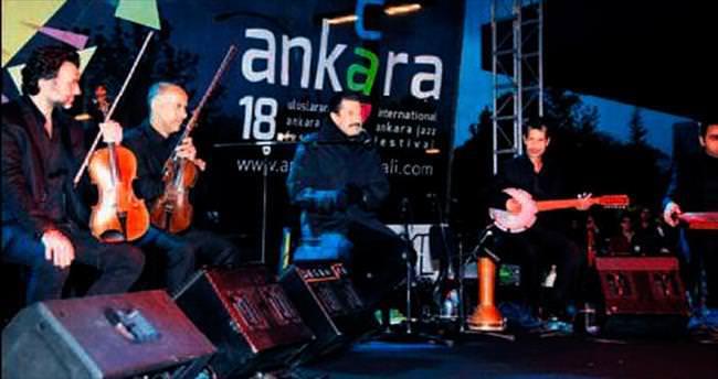 Perküsyon üstadı Ankara'yı ısıttı