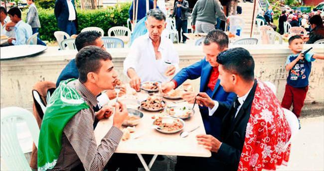 Çubuk'ta düğünlerin vazgeçilmezi Homaça