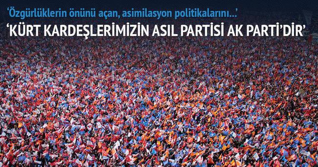 Eroğlu: Kürtlerin partisi AK Parti'dir